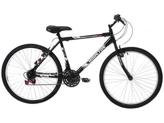 Bicicleta Houston Foxer Hammer 21 Velocidades Aro 26 - Preta Cadilac