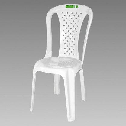 Cadeira Topplast Plástica Valentina Esp Branca