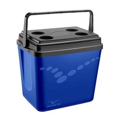 Caixa Térmica Invicta Pop com alça 34 Litros ( 8734 ) – Azul