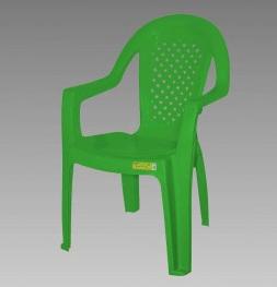 Poltrona Topplast Plastica Isabela Esp Verde Limao