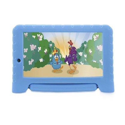 Tablet Infantil Multilaser Galinha Pintadinha Plus 7 Polegadas (Nb311) 16GB Dual Câmera Android - Azul