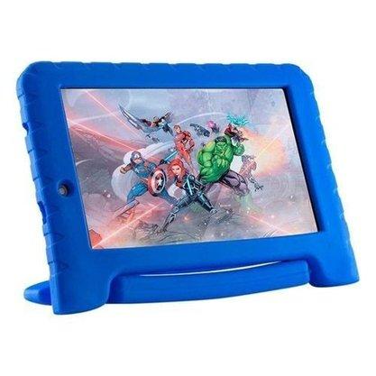 Tablet Multilaser Marvel Avengers Plus (NB307) 16GB Tela 7 Polegadas Quad Core Dual Câmera - Azul