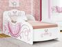 Cama Tuboarte Infantil Carruagem Cor Branco/rosa